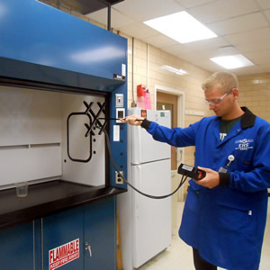 Fume Hood Testing Scheduled for Engineering Building